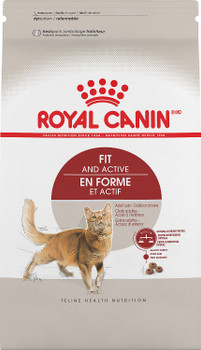 Royal Canin Feline Health Nutrition Adult Fit And Active Dry Cat Food-3-lb-{L-1}