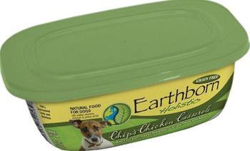 Earthborn Holistic Chip's Chicken Casserole Gourmet Dinners Grain Free Moist Dog Food Tubs-8-oz, Case Of 8-{L-tx}