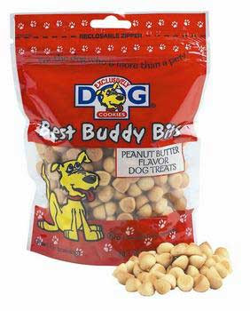 Exclusively Pet Best Buddy Bits Peanut Butter 5.5 Oz.