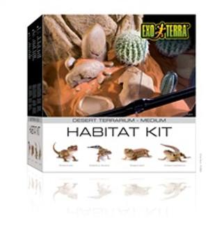 Exo Terra Desert Habitat Kit Medium {requires 3-7 Days before shipping out}