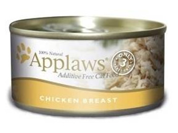Applaws Chicken Breast Contains Nothing More Than The Three Ingredients Listed. Applaws Is A Completely Natural Complementary Pet Food For Adult Cats.