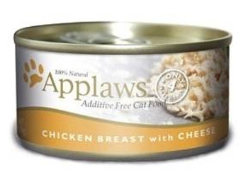Applaws Chicken Breast With Cheese Contains Nothing More Than The Four Ingredients Listed. Applaws Is A Completely Natural Complementary Pet Food For Adult Cats.