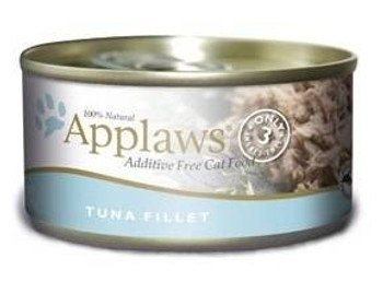 Applaws Tuna Fillet Contains Nothing More Than The Three Ingredients Listed. Applaws Is A Completely Natural Complementary Pet Food For Adult Cats. We Guarantee That Our Fish Is Sea Caught Using Dolphin Friendly Methods.