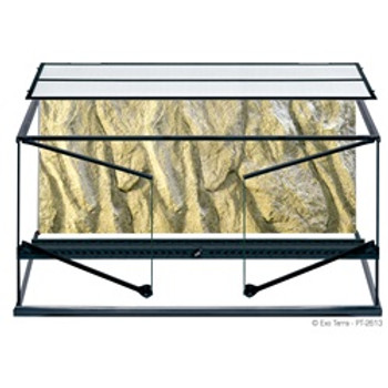 Exo Terra Glass Terrarium 36x18x18 {requires 3-7 Days before shipping out}