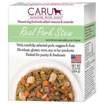 Caru Grain Free Real Pork Stew Canned Dog Food-12.5-oz, Case Of 12-{L+x}