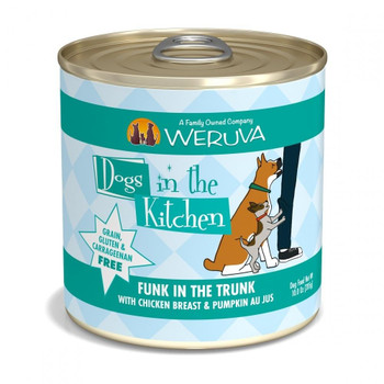 Weruva Dogs In The Kitchen Funk In The Trunk Grain Free Chicken And Pumpkin Canned Dog Food-10-oz, Case Of 12-{L-tx}