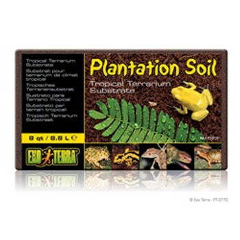 Exo Terra Plantation Soil 8 Quart{requires 3-7 Days before shipping out}