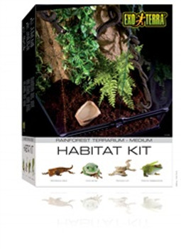 Exo Terra Rainforest Habitat Kit Medium {requires 3-7 Days before shipping out}