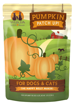 Our Pumpkin Supplement Is A Great Source Of Heathy Fiber Helping To Support Your Best Friend's Digestive System. Weruva Combines The Heathy Digestive Benefits Of Pumpkin In An Easy To Serve Pouch. 