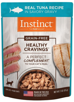 Nature's Variety Instinct Healthy Cravings Tuna Recipe Is Carefully Crafted To Include Raw Nutrition In Every Meal. Healthy Cravings Provides Wholesome, Tender Tuna In Savory Gravy For A Healthy And Delicious Mealtime Experience. Grain-free And Perfect Fo