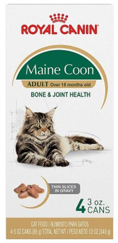 Maine Coon Thin Slices And Gravy Is Designed Exclusively For Pedigreed Maine Coon Cats Over 15 Months Old. 