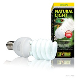Exo Terra Natural Light- 26w {requires 3-7 Days before shipping out}