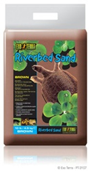 Exo-terra Riverbed Sand 10# Brown{requires 3-7 Days before shipping out}