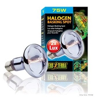 Exo Terra Sun-glo Halogen Lamp 75w{requires 3-7 Days before shipping out}