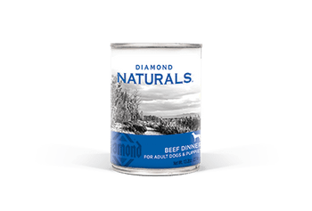 Diamond Naturals Beef Dinner All Life Stages Canned Dog Food-13.2-oz, Case Of 12-{L-1}