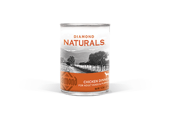 Diamond Naturals Chicken Dinner All Life Stages Canned Dog Food-13.2-oz, Case Of 12-{L-1}