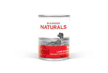 Diamond Naturals Lamb Dinner All Life Stages Canned Dog Food-13.2-oz, Case Of 12-{L-1}