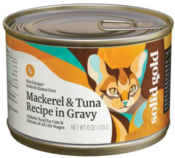 A Holistic Food With Natural Ingredients, Vitamins, Minerals And Amino Acids Your Cat Is Sure To Go Crazy Over!  Grain And Gluten Free, This Wet Cat Food Is Crafted With A Carefully Balanced Combination Of Ingredients Including Mackerel, Tuna And Tapioca