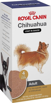Royal Canin Breed Health Nutrition Chihuahua Adult Canned Dog Food-3.5-oz, Case Of 4-{L-1}