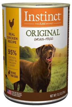 All Dogs Deserve A Healthy, Tasty, High Protein Diet. Luckily, There's Instinct Grain-free Chicken Formula Canned Dog Food. Every Bite Is Packed With Real Chicken, Wholesome Fruits, Vegetables, And Zero Grains Or Fillers. Essentials Like Omega Fatty Acids