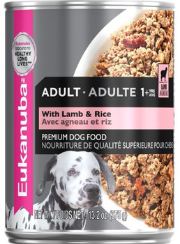 `-made With High-quality, Animal-based Proteins To Help Build Strong, Lean Muscles For An Optimal Body Condition-eukanuba Canned Dog Food Has An Optimal Balance Of Fats, Carbohydrates, Vitamins, Minerals And Proteins To Promote A Healthy Wei