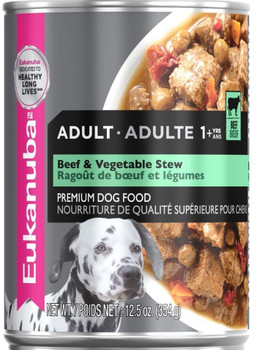 Eukanuba Dog Cut Stew Beef and Vegetable, 12/12.5 Oz *REPL 111784 {L-1}111012