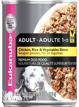 Eukanuba Chicken/Vegetable/Rice Dinner 12/13.2Z {L-1}108100