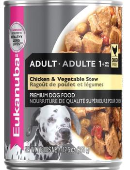 Eukanba Chicken/Vegetable Stew 12/12.5Z *REPL 111789 {L-1}111013