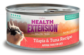 The Health Extension Grain-free Tilapia & Tuna Recipe Canned Cat Food Nourishes Your Feline With Every Single Bite. Made To Provide Years Of Soft Purrs And Gentle Nuzzles, This Holistic Recipe Is Specially Formulated To Promote A Shiny Coat, Resilient Imm