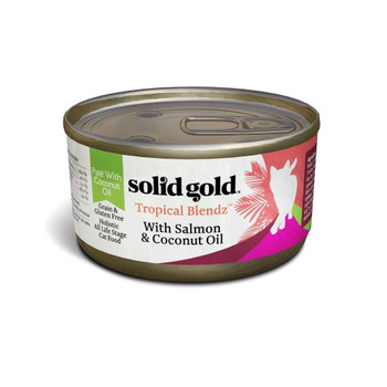 His Grain And Gluten Free Wet Cat Food Is Crafted With A Carefully Balanced Combination Of Ingredients Including Salmon, Chicken And Tuna Served In A Pat Form With Coconut Oil Your Cat Will Love.  A Nutritionally Complete And Balanced Meal Perfect For C