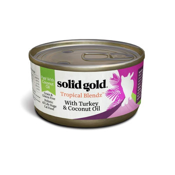 This Grain And Gluten Free Wet Cat Food Is Crafted With A Carefully Balanced Combination Of Ingredients Including Turkey, Chicken And Tuna Served In A Pat Form With Coconut Oil Your Cat Will Love.  A Nutritionally Complete And Balanced Meal Perfect For
