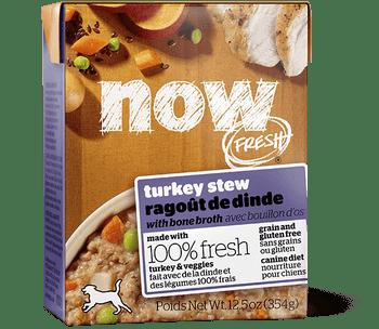 Petcurean Now! Fresh Grain Free Turkey Stew With Bone Broth Wet Dog Food-12.5-oz, Case Of 12-{L-1}