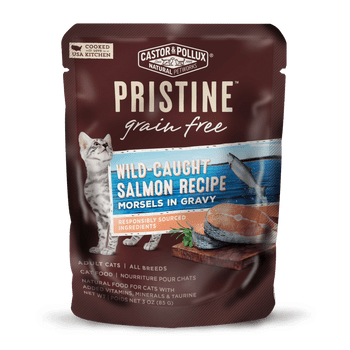 The #1 Ingredient Is Wild Caught Salmon That Has Been Raised In Their Natural Environment And Responsibly Caught. Features Organic Produce Thats Responsibly Grown Without Synthetic Fertilizers Or Chemical Pesticides, On Farms That Care For The Earth.