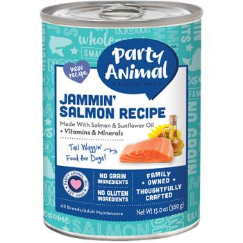 PARTY ANIMAL DOG JAMMIN SALMON 13OZ