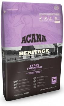 Acana Heritage Feast Formula Grain Free Dry Dog Food-4.5-lb-{L+x}