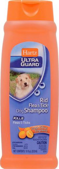 Hartz Ultra Guard Rid Flea & Tick Dog Citrus Shampoo 18oz