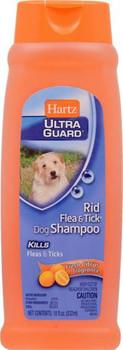 Hartz Ultra Guard Rid Flea & Tick Dog Citrus Shampoo 18oz