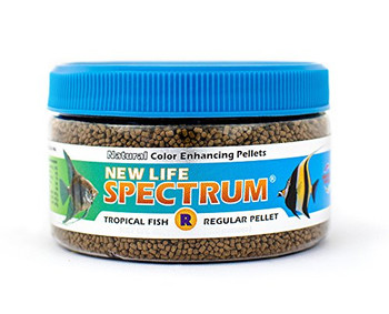 Great for all kinds of freshwater   marine fish.  Easy to digest Whole Antarctic Krill, Squid and marine veggies. No soybean products. For best results, feed Spectrum exclusively! This replaces our All Purpose line. 1-1.5mm sinking pellet.