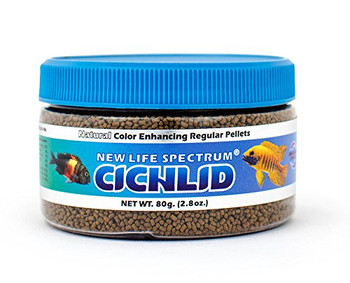 1-1.5mm color enhancing sinking pellet. Easy to digest Whole Antarctic Krill, Squid and marine veggies. No soybean products. For best results, feed Spectrum exclusively!