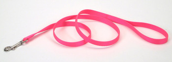 Coastal Single-Ply Nylon Leash Neon Pink 1X4ftOur Coastal Nylon Dog Leash is made with durability and style in mind. Featuring an easy-to-use bolt snap, this everyday leash is made from high-quality, durable nylon.