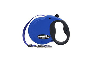 Extend your horizons with our Power Walker Retractable Dog Leash featuring all-web construction and reflective stitching on web for safety and durability. This easy-to-operate retractable leash has a comfort-grip handle with easy-to-use one button stop-and-release action. Our retractable leashes allow your dog to explore without the leash tangling or becoming slack. Available in XSM (up to 16 lbs), SML (up to 32 lbs), MED (up to 64 lbs) and LRG (up to 110 lbs). All of our retractable leashes feature our Quality Guarantee that covers all products we offer. Other retractable leashes are only covered for a limited time.