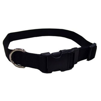 3/4 , Adjustable, Black Nylon Collar, 14 -20 , is best suited for medium or average size dogs. Made from high quality nylon that is specially processed to prevent fraying, and increase the overall strength. All nylon products are carefully and neatly finished for comfort, appeal and durability.
