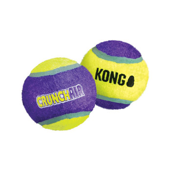 It #;s all about the crunch! KONG Crunch Air creates a crunching sensation that delights dogs while fulfilling their natural chewing and chasing instincts. The KONG Crunch Air features an ideal bounce that is great for interactive play. It #;s also