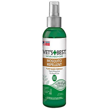 Repels mosquitos. 100% DEET Free! Sprays upside down and 360 degrees for easy application. Protection for the entire family.