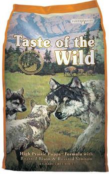 Diamond Taste of the Wild High Prairie Puppy Bison/Venison 14lb *REPL 418401