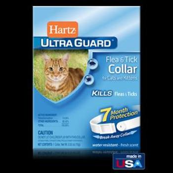 Hartz Ultra Guard Flea & Tick Cat Clr Wte