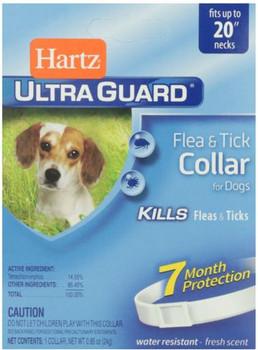 """Hartz Ultra Guard Flea & Tick Dog Clr Wte <20"""""""