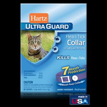 Hartz Ultra Guard Flea & Tick Cat Clr Purple