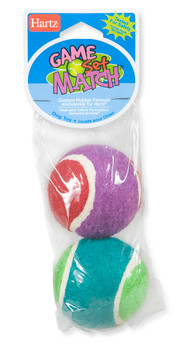 Hartz Game, Set, Match Dog Toy is perfect for active dogs who love to chew, fetch, catch, and chase. Hours of fun for you and your Dog.