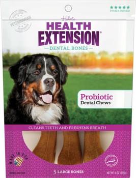 Health Extension Large Probiotic Dental Chews 3pk *REPL 587076